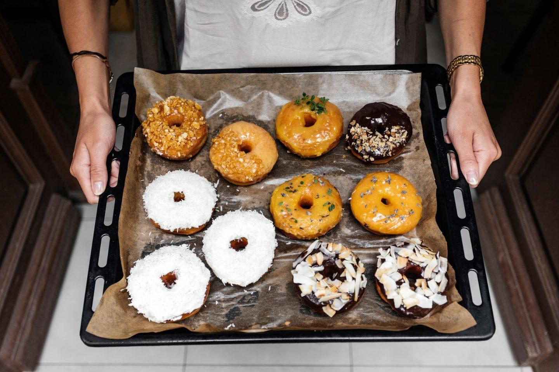 donut shop praha vinohrady